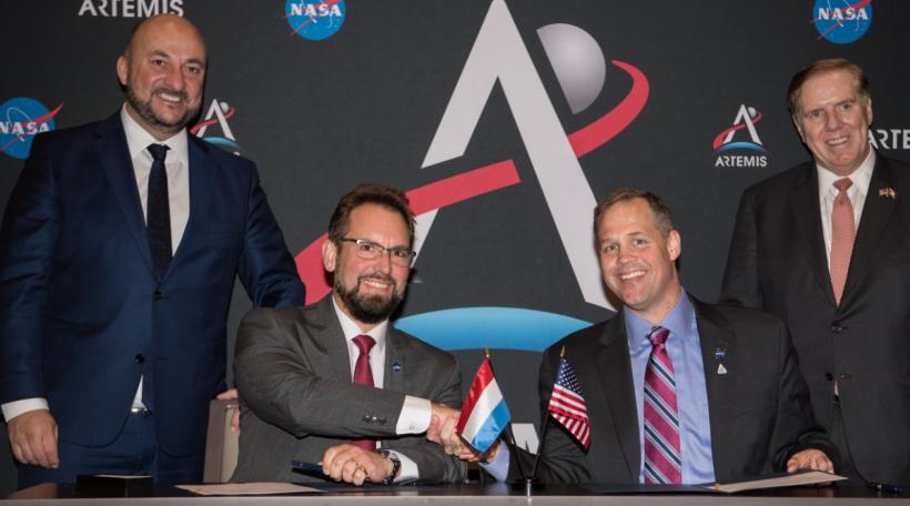 Etienne Schneider Marc Serres Accord NASA