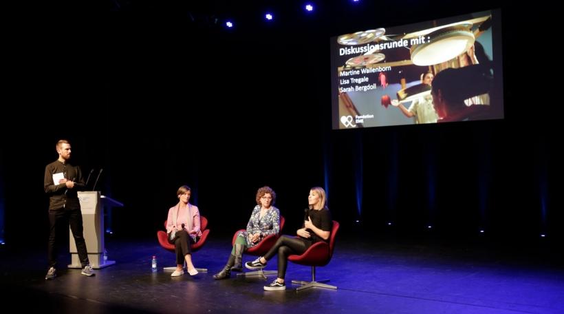 Diskussiounsronn an der Philharmonie (Foto: Sébastien Grébille / Fondation EME)