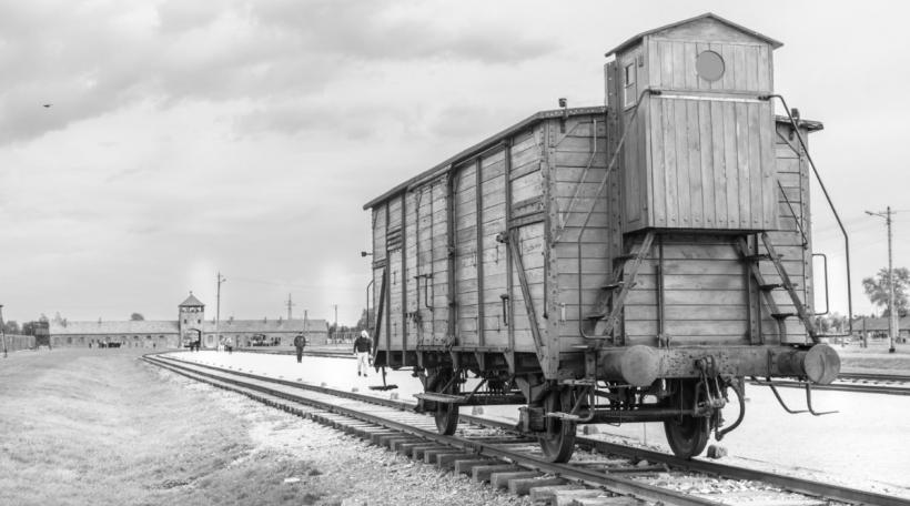 En Zuch Richtung Auschwitz