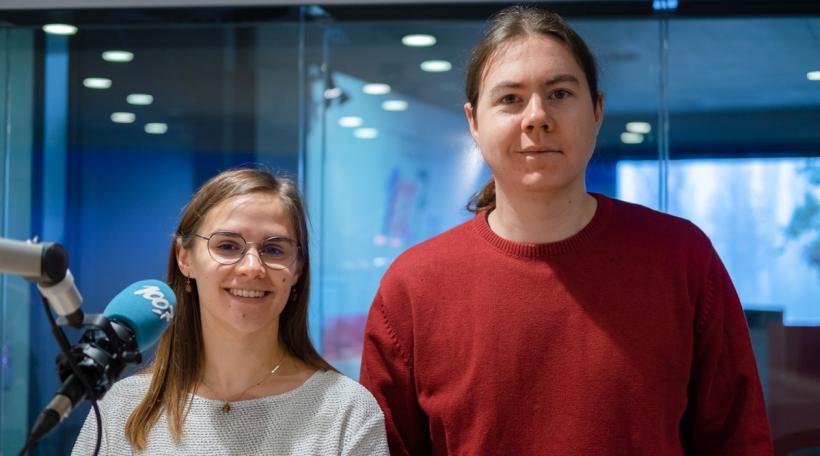 Fabienne Becker a Fränz Siebenaller