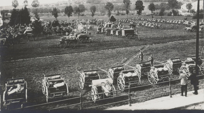 E Lager am éischte Weltkrich
