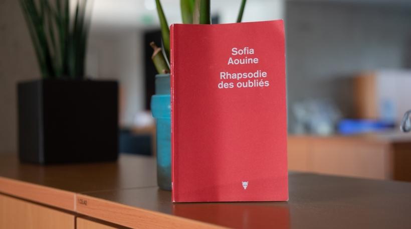 Sofia Aouine - Rhapsodie des oubliés
