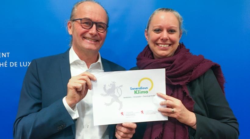 Claude Turmes a Carole Dieschbourg