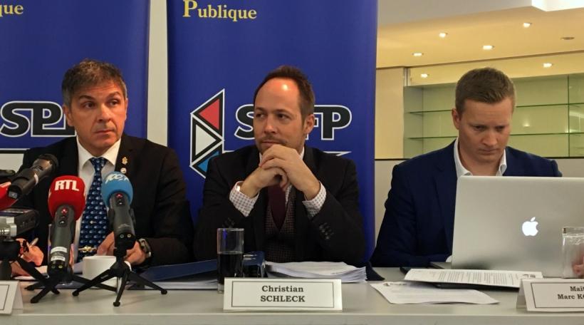 Pascal Ricquier, Christian Schleck, Marc Kohnen