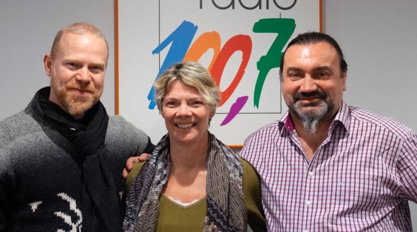 Norry Schneider, Cécile Devroye an Eric Lavillunière
