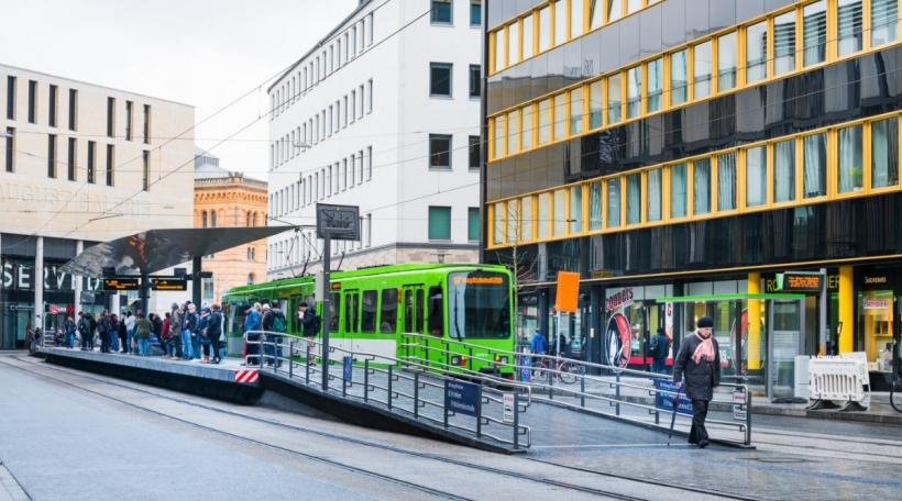 Hannover huet de gratis ëffentlechen Transport getest