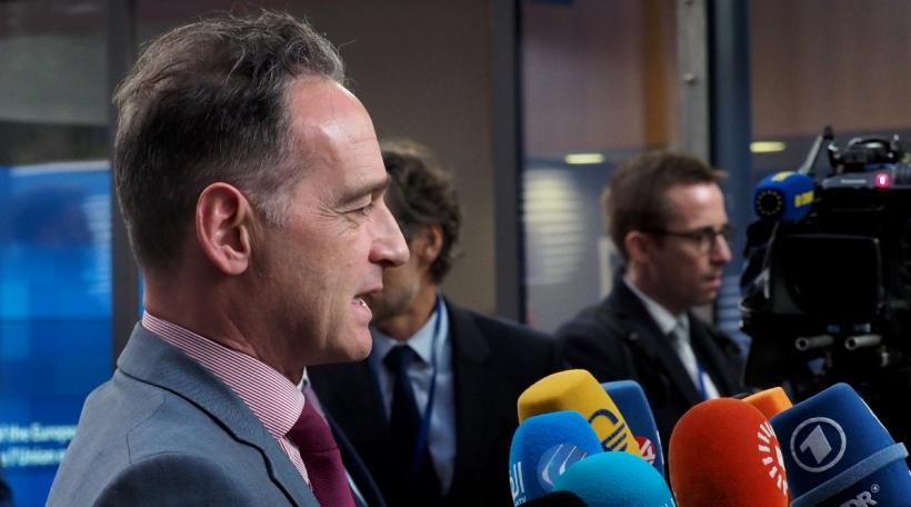 Den däitschen Ausseminister Heiko Maas. Foto: Chr.Dogas / European Union