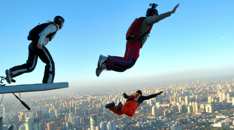 Basejumping als Extremsport