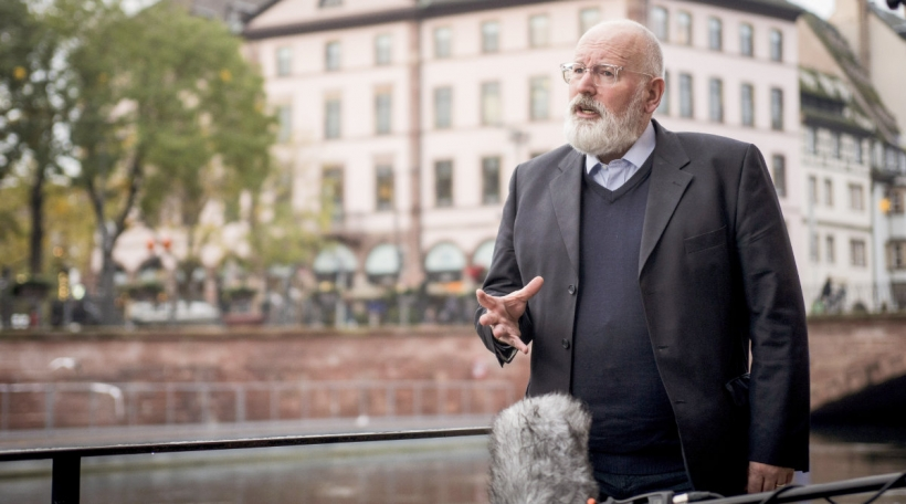 De Frans Timmermans zu Stroossbuerg