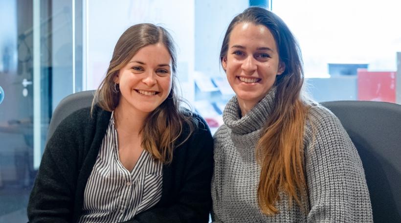 Carmen Michels a Sarah Graf
