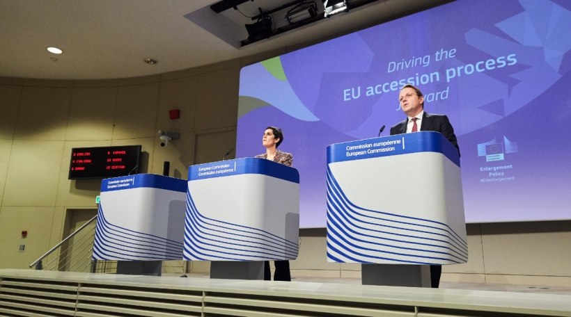 EU-Erweiderung: Olivér Várhelyi