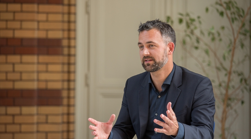 Anders Levermann im Gespräch