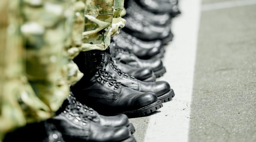 Militärstiwwelen