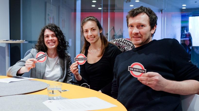 Mandy Cruchten, Dora Pereira, Gary Muller