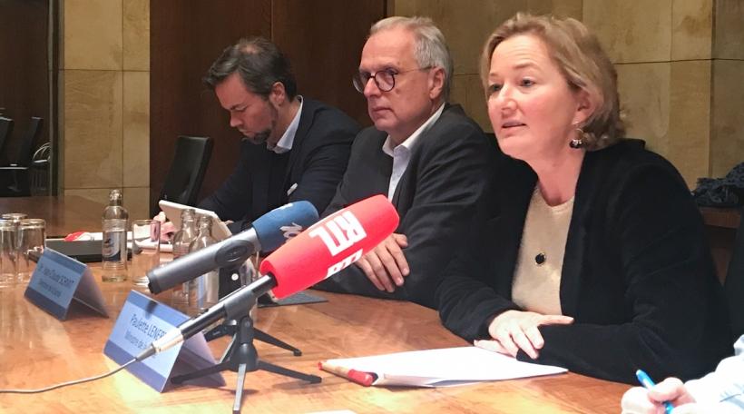 Pressekonferenz iwwer den éischte Fall vun enger Coronavirusinfektioun zu Lëtzebuerg