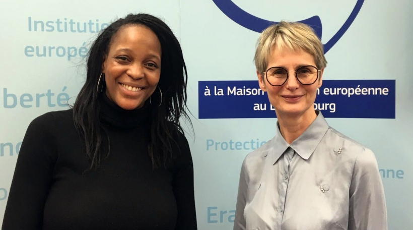 Kelly Mulombe; Karin Basenach