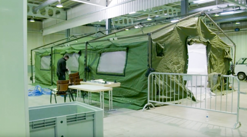 Centre de soins adaptés Luxexpo Foireshalen 1