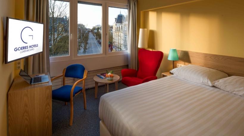 Een Zëmmer am Hotel Parc Belle-Vue