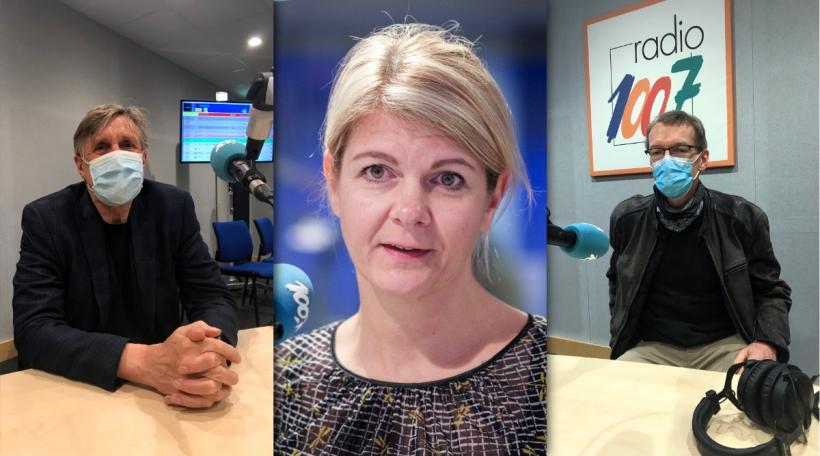 François Bausch, Aline Muller, Vic Arendt