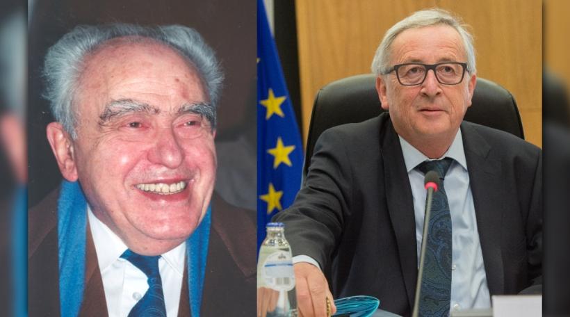 Edmond Israel , Jean-Claude Juncker