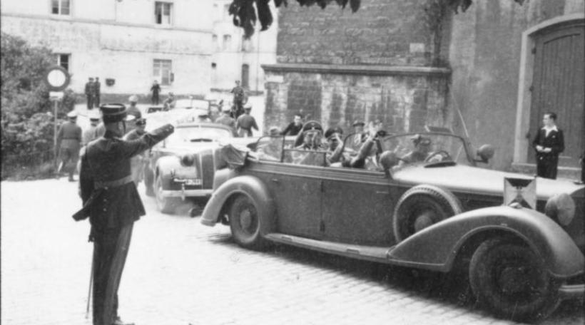 Heinrich Himmler in Luxemburg