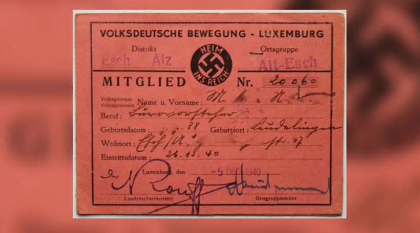 Mitgliederausweis Volksdeutsche Bewegung