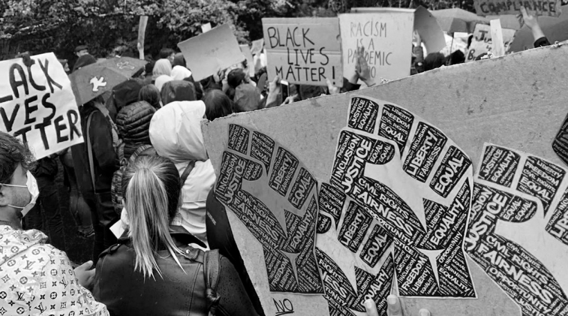 Black Lives Matter Manifestatioun Europa