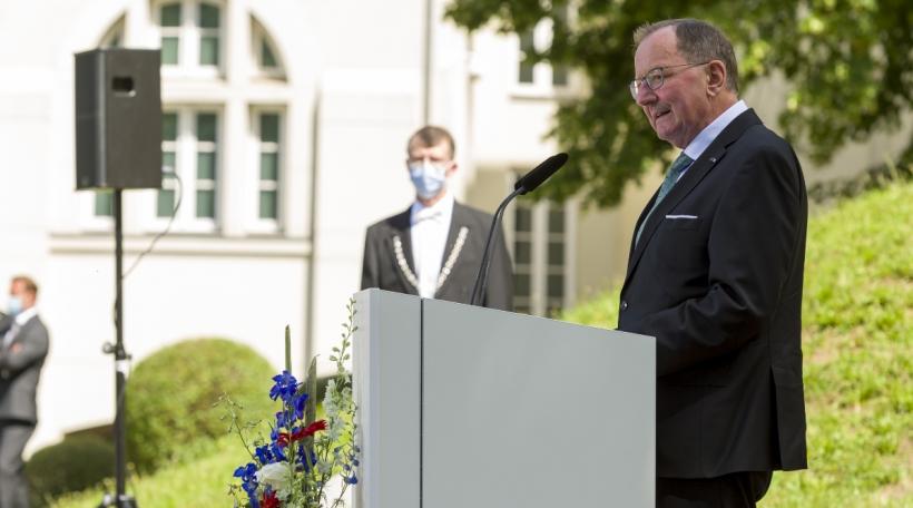 Fernand Etgen, président de la Chambre des députés
