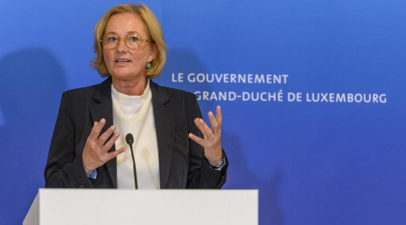 Paulette Lenert, ministre de la Protection des consommateurs, ministre de la Santé