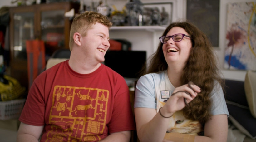 Love on the spectrum; Thomas and Ruth