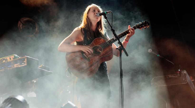 Sophie Hunger auf der Hauptbühne am Haldern Pop Festival 2019.