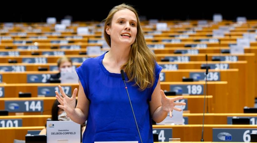 Déi däitsch gréng Europadeputéiert Terry Reintke. Foto: EU / Emilie Gomez