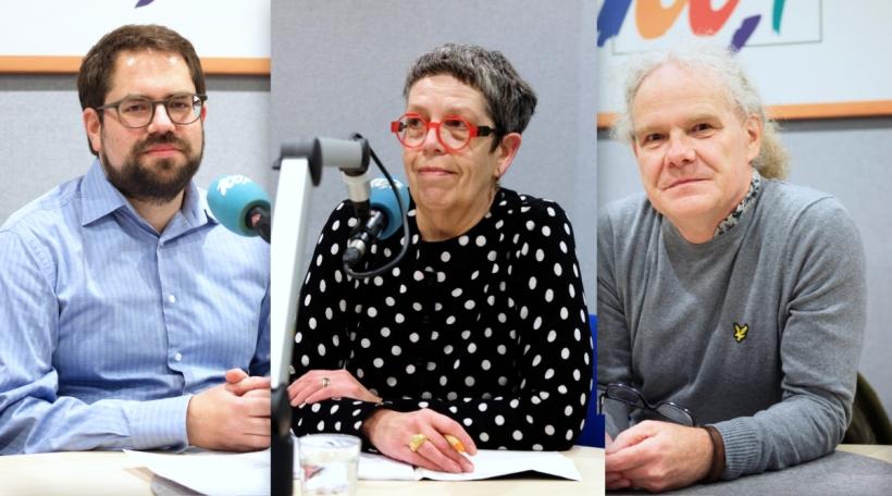 Journalisteronn: Laurent Schmit (Reporter.lu), Dani Schumacher (Wort) a Peter Feist (d'Land)