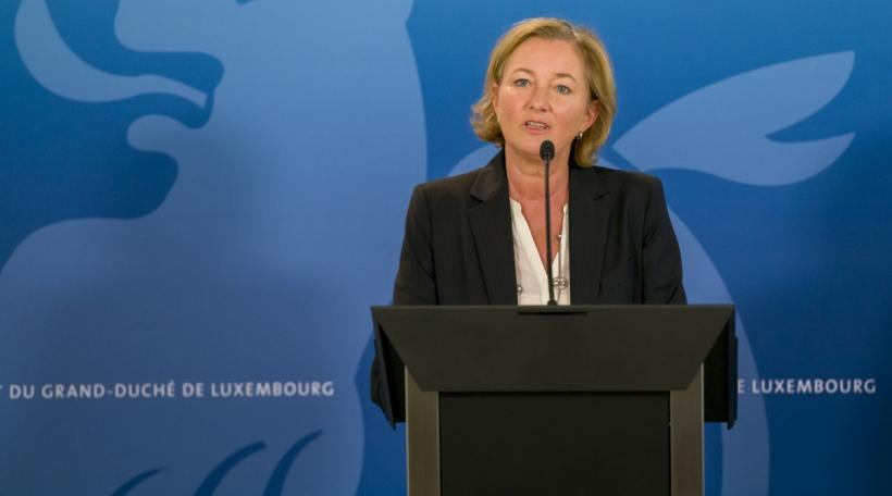 Paulette Lenert, ministre de la Santé