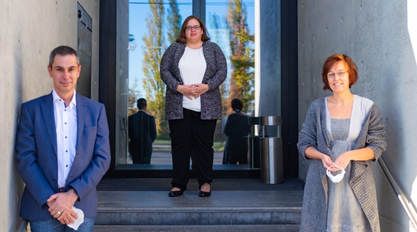 Fabrice Roth, Caroline Residori, Anne Vergison