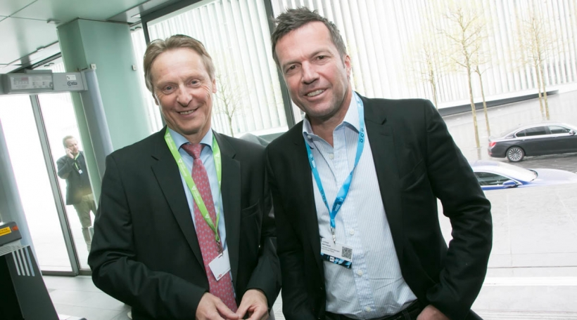 Roby Langers a Lothar Matthäus