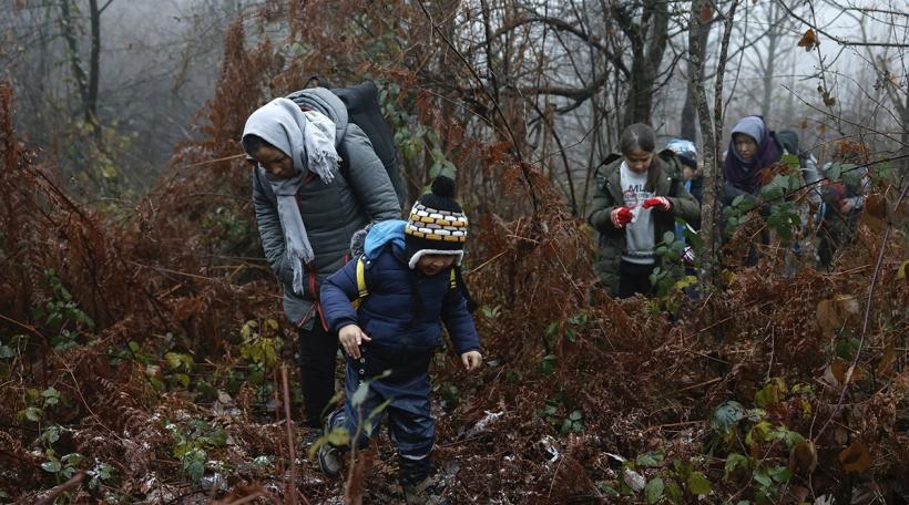 Flüchtlingen a Bosnien