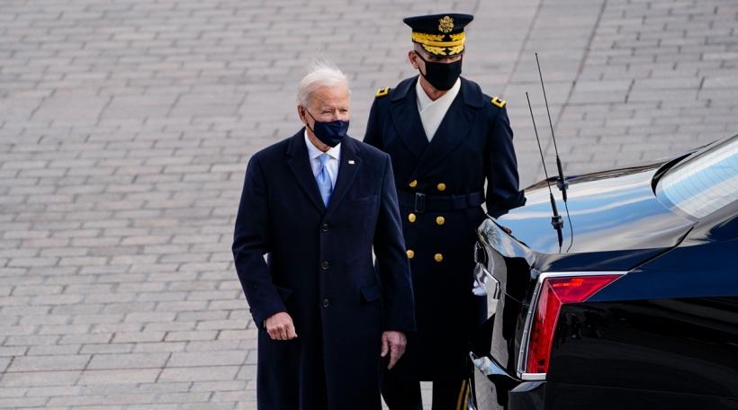 Den Joe Biden gouf als neien US-President vereedegt
