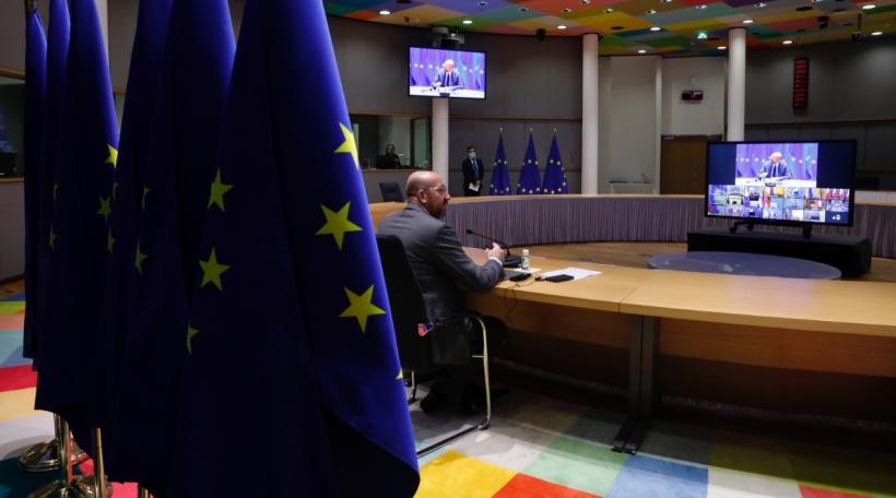 De Rotspresident Charles Michel