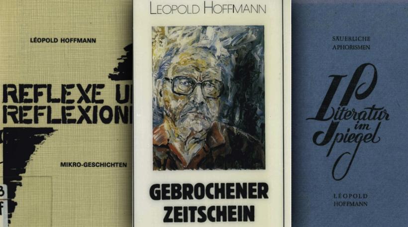 Collage Leopold Hoffmann