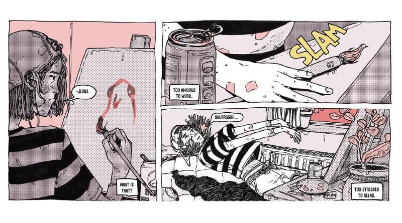 """D'Graphic Novel ass eraus komm bei """"Avery Hill""""."""