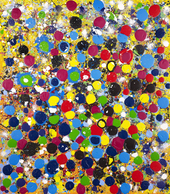 An explosive day (160 x 140), 2020 - Frank Jons