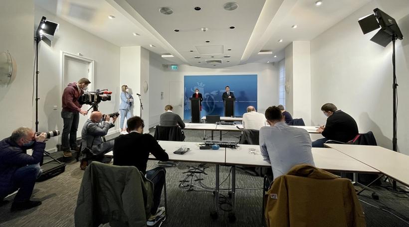 Pressekonferenz vum 5. Mäerz