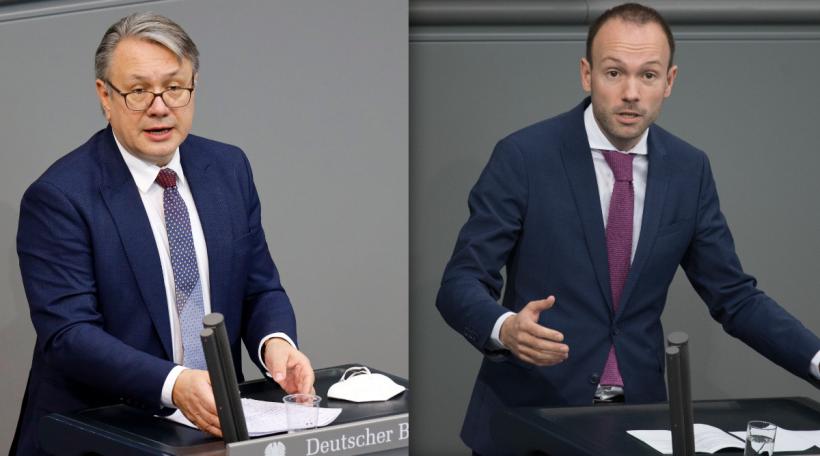 Georg Nüßlein und Nikolas Löbel
