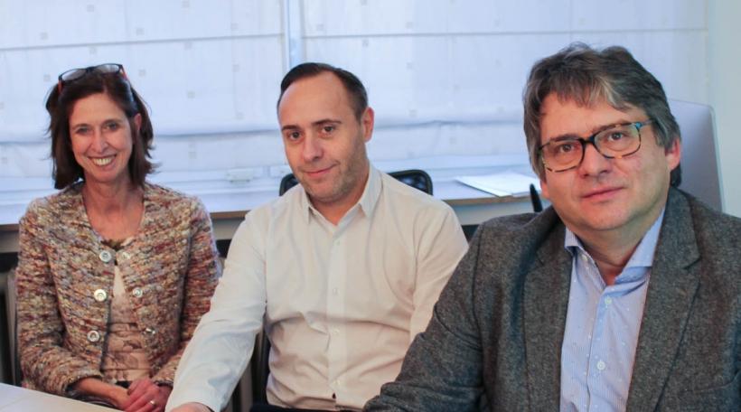 Lydia Mutsch, Laurent Zanotelli, Dr Guy Berchem