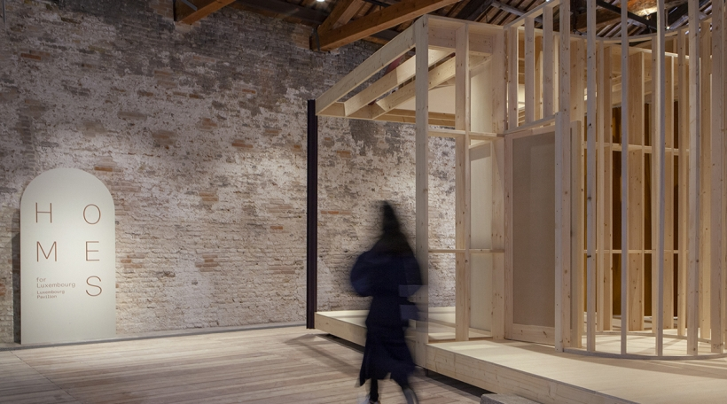 "LuxPav ""Homes for Luxembourg"" op der Biennale 2021"