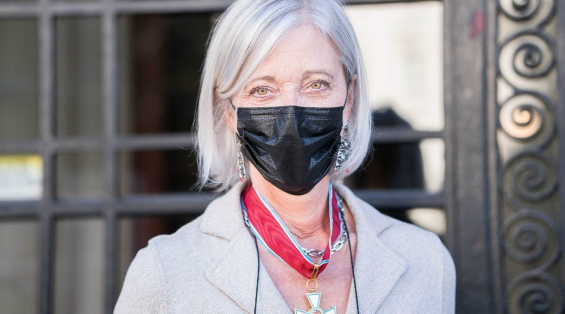 Diane Miller Direktesch vun der Fondation Biermans-Lapotre