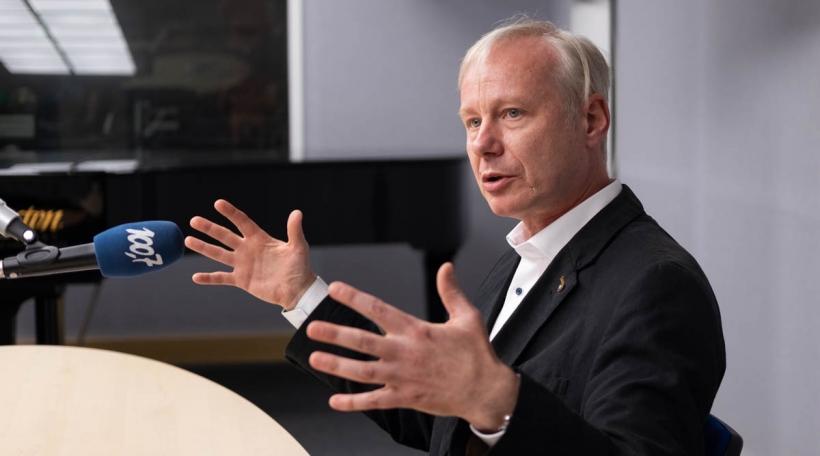 Den AMMD-President Alain Schmit