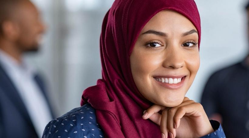 Illustratioun Hijab