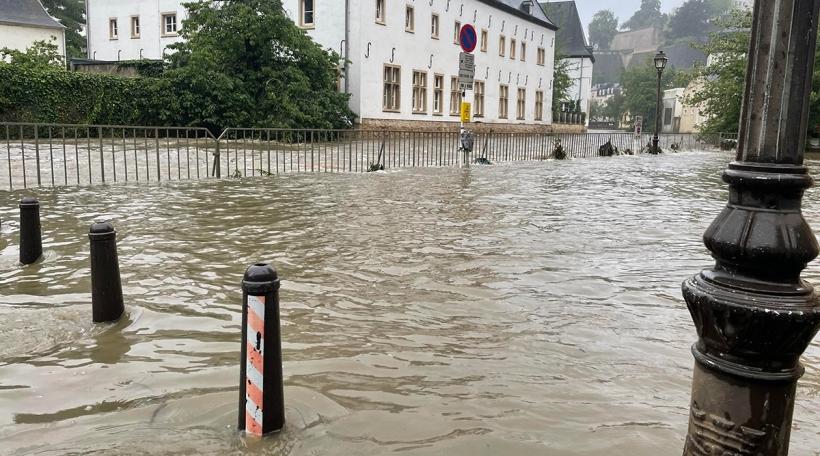 Iwwerschwemmungen am Gronn